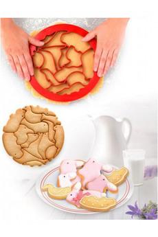 Форма для вырезания печенья «ЗООПАРК» Bradex
