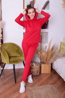 Красный женский костюм ElenaTex